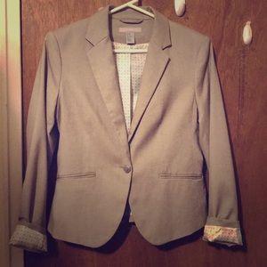 Cream chic blazer